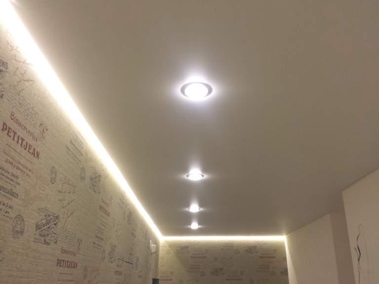 светодиодная лента для натяжного потолка